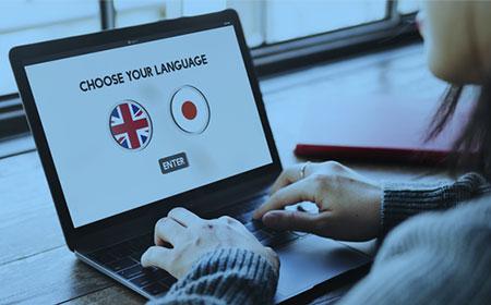 英語版サイト言語チェック及び解析
