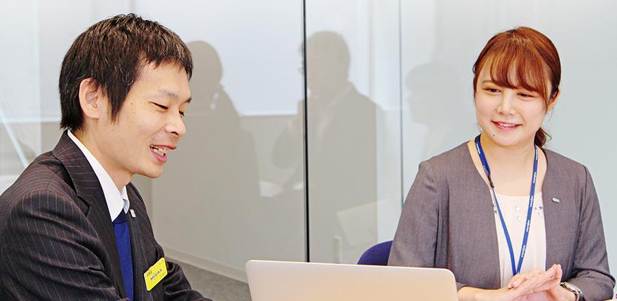 インタビュー風景|三浦工業様とクロスコミュニケーションズ